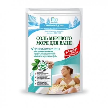 Sól do kąpieli z Morza Martwego WZMOCNIENIE ODPORNOŚCI 530g Fitokosmetik