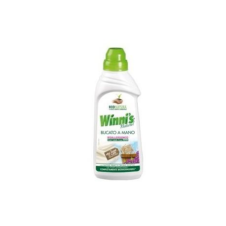 Ekologiczny płyn do prania ręcznego i w pralkach z mydłem z Aleppo 750ml WINNI'S