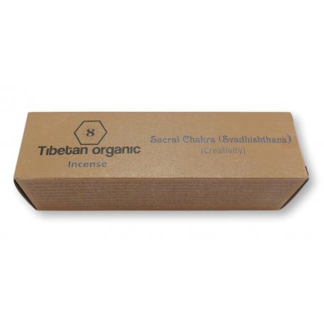 Organiczne kadzidła tybetańskie SACRAL CHAKRA TIBETAN ORGANIC