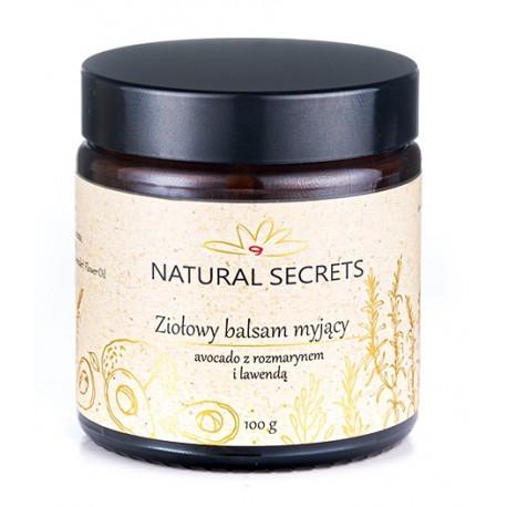 ZIOŁOWY Kremowy balsam do DEMAKIJAŻU 100g Natural Secrets