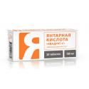 Kwas Bursztynowy 100 mg 20 tabletek Mediko-Med