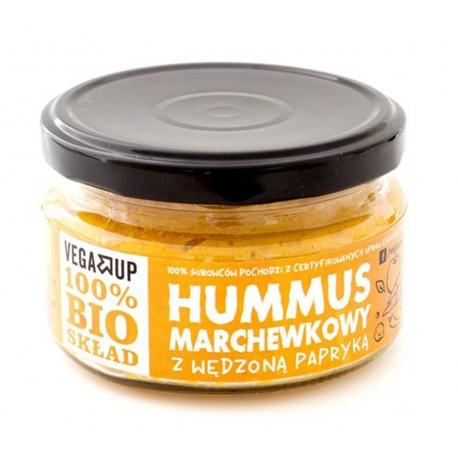 Hummus marchewkowy z wędzoną papryką BIO 190g VEGA UP