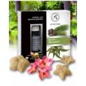 Zestaw do Aromaterapii JODŁA i EUKALIPTUS Naturalne OLEJKI i Ceramiczne GWIAZDKI Aromatika