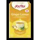 Herbata imbirowo-cytrynowa GINGER LEMON YOGI TEA