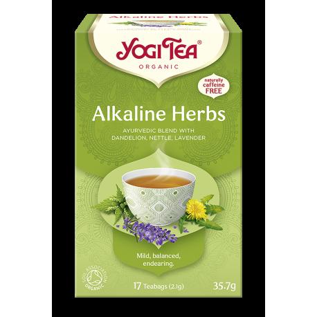 Herbata ALKALINE HERBS Zioła alkaliczne YOGI TEA