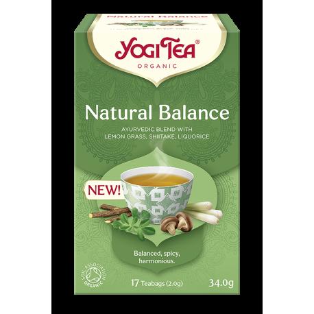 Herbata NATURAL BALANCE Naturalna równowaga EASE YOGI TEA
