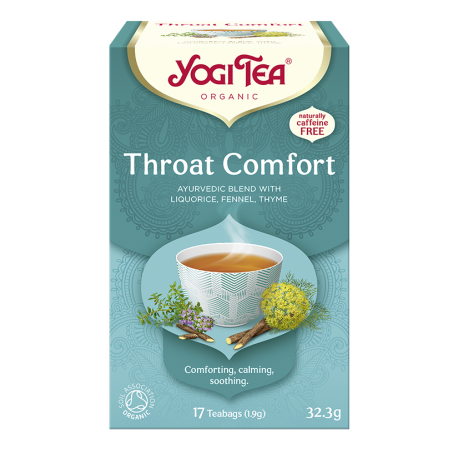 Herbata na gardło THROAT COMFORT YOGI TEA
