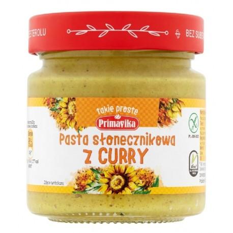 Pasta słonecznikowa z curry 160g Primavika