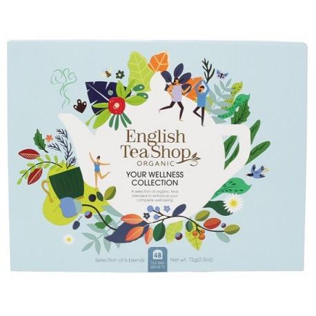 Zestaw herbat YOUR WELLNESS COLLECTION 48 saszetek