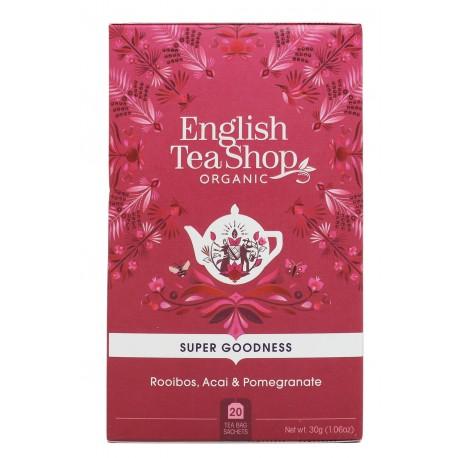 Herbata ROOIBOS Acai GRANAT 20 saszetek English Tea Shop