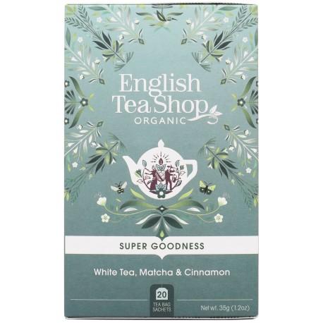 Herbata biała MATCHA i CYNAMON 20 saszetek English Tea Shop