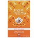 Herbata KURKUMA IMBIR Lemongrass 20 saszetek English Tea Shop