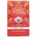 Herbata BURAK jabłko BORÓWKA 20 saszetek English Tea Shop