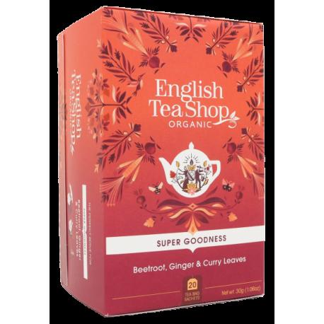 Ekologiczna Herbata WARZYWNA 20 saszetek English Tea Shop