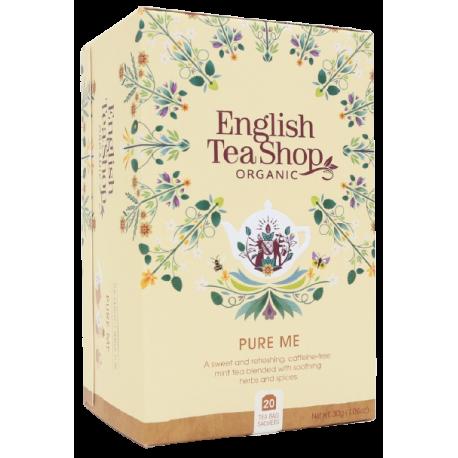 Ekologiczna Herbata PURE ME 20 saszetek English Tea Shop