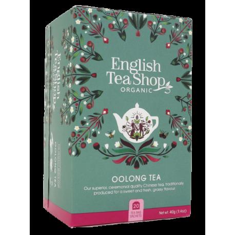 Ekologiczna Herbata OOLONG 20 saszetek English Tea Shop
