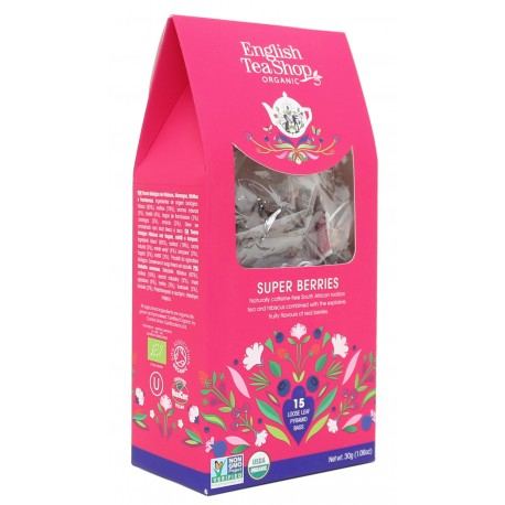 Herbata SUPER BERRIES 15 piramidek English Tea Shop