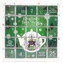 Kalendarz adwentowy GREEN PUZZLE 25 herbat piramidek English Tea Shop